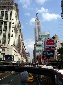 Landmarks: Macy's and the Empire State Building