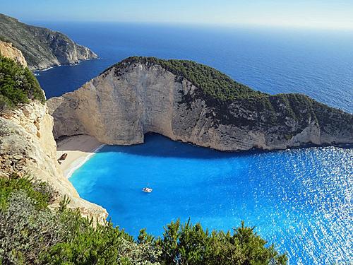 A quiet beach